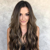 Darker Brown Lace Front Wig | 100% Lace Front Wig