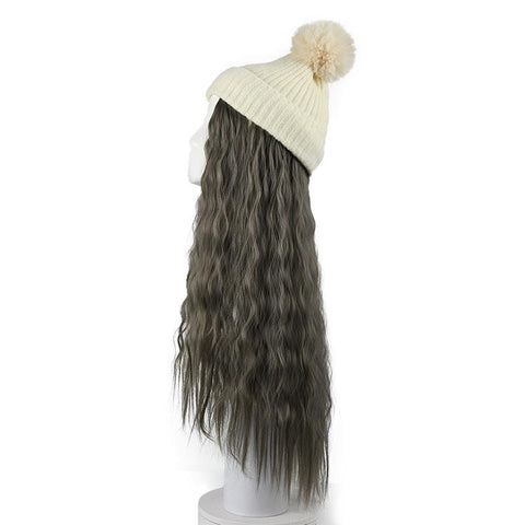 (Wool hat)Hair Wig Cap - Maxky Design