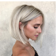 100% Lace Front Wig | white blone short hair - Maxky Design