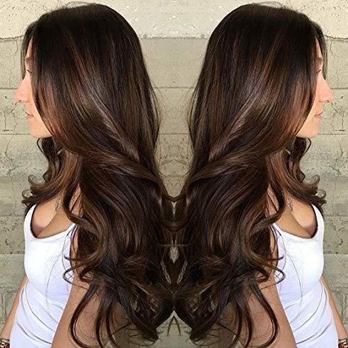 Charming Brown Long Lace Front Wig | 100% Lace Front Wig - Maxky Design