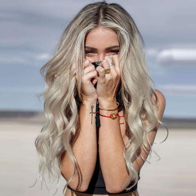 100% Lace Front Wig | 2019 beach blonde wig - Maxky Design