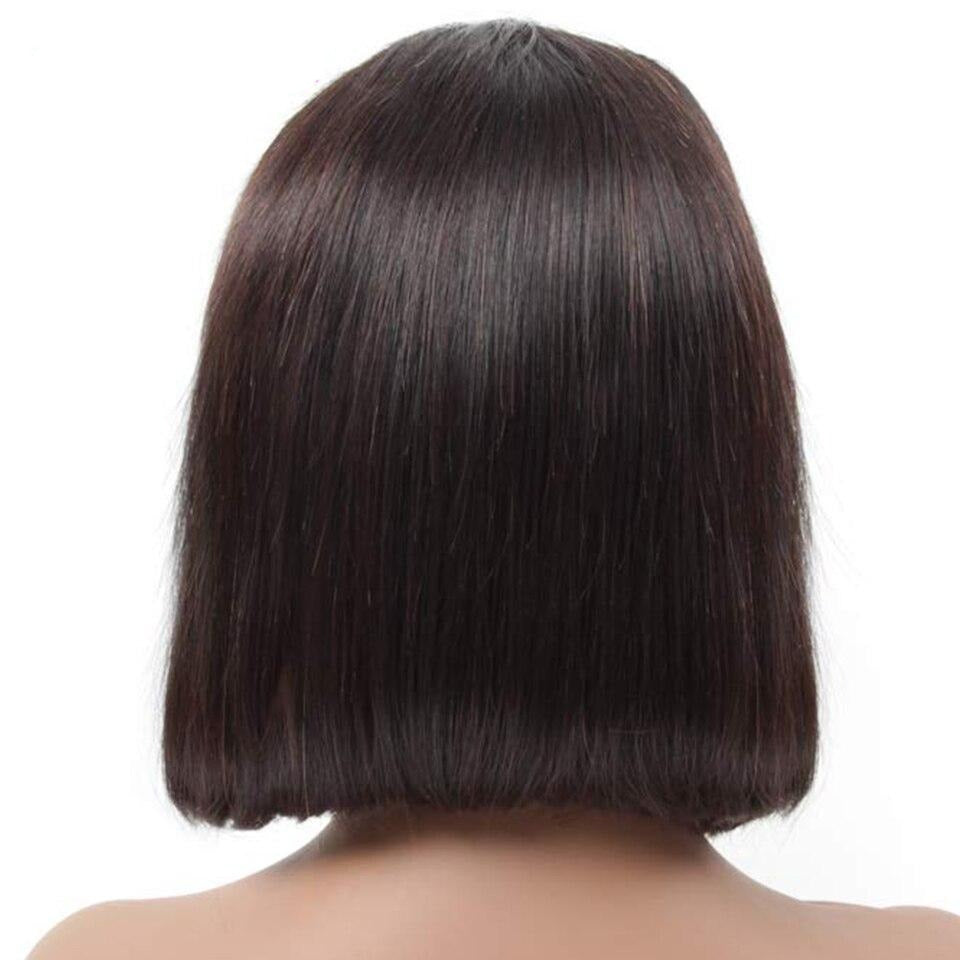 Straight Short Lace Front Wigs