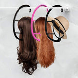 New Durable Wig Stands Hanger Salon Barber Shop Hanging Hats Holder Dryer Display Stand Racks Organizer