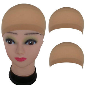 2Pc/Lot Nylon Wig Cap Hair Net For Weave Hairnets Wig Nets Elastic Lace Bandage Hairnet Breathable Mesh Wig Hat Soft Stretch Cap - Maxky Design