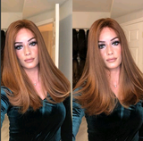 Medium Long Brown Lace Front Wig | 100% Lace Front Wig
