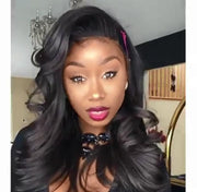100% Lace wig-360 Wig Pre Plucked Body Wave With Slay - Maxky Design