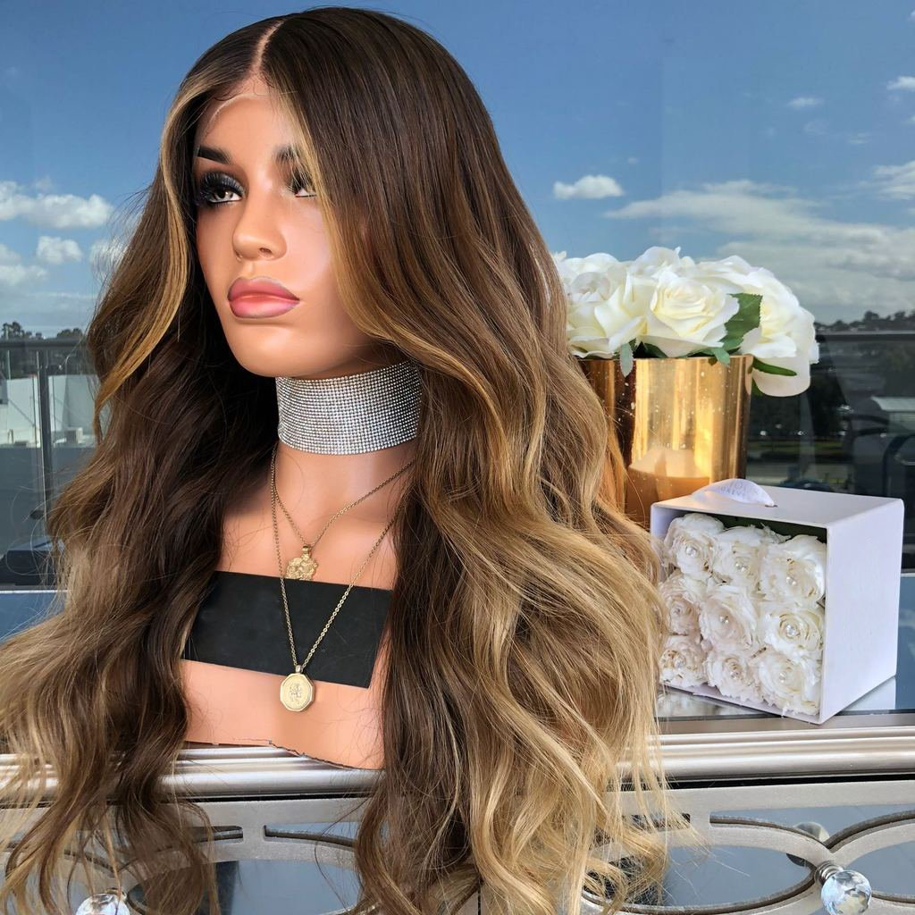 INS HOTSALE BRAND NEW WAVE LACE FRONT WIG | 100% Lace Front Wig - Maxky Design