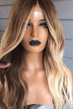 Christina Brown Lace Front Wig | 100% Lace Front Wig - Maxky Design