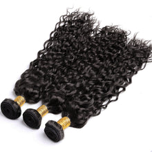 Load image into Gallery viewer, Fashion design 100% Brazilian Human Hair Wefts Bresilienne Curl Wave Wigs