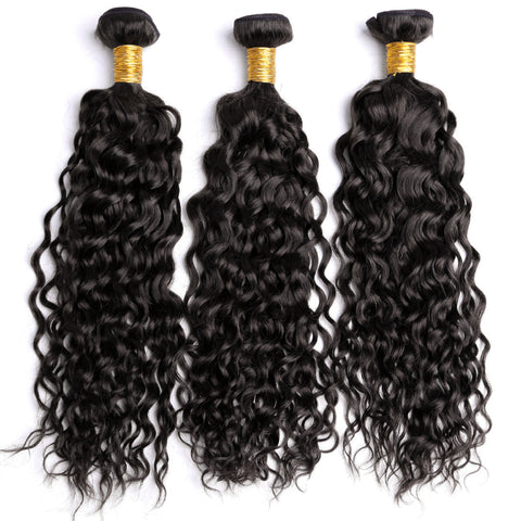 Fashion design 100% Brazilian Human Hair Wefts Bresilienne Curl Wave Wigs - Maxky Design