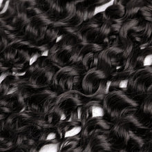Load image into Gallery viewer, 100% Brazilian Human Hair Wefts Bresilienne Deep Curl Wave Wigs