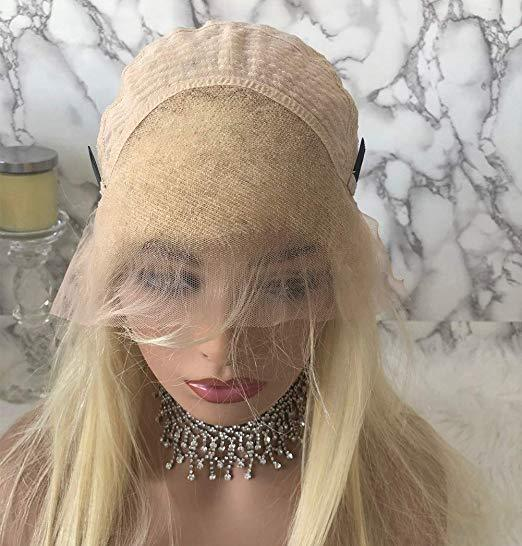 Blonde #613 Color Body Wave Human Hair Full Lace Wigs / Lace Front Wig | 100% Lace Front Wigs