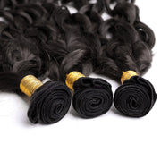 100% Brazilian Human Hair Wefts Bresilienne spiral curl wave - Maxky Design