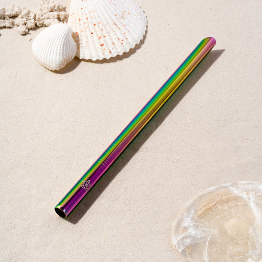 Rainbow Stainless Steel Boba Straw