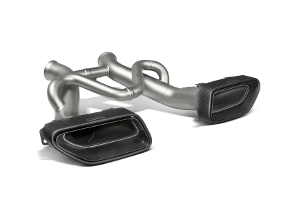 Akrapovic 14-17 McLaren 650S/650S Spyder Slip-On Line (Titanium) w/ Carbon Tips
