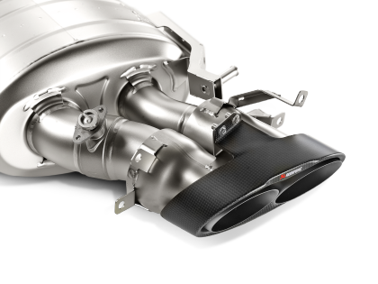 Akrapovic 14-17 Audi RS7 Sportback (C7) Evolution Line Cat Back (Titanium) w/ Carbon Tips