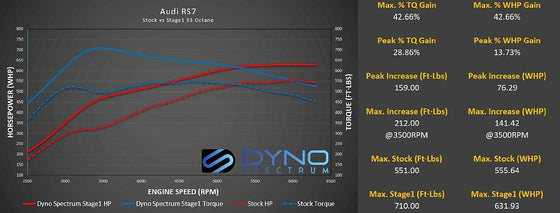 Dyno Spectrum DS1 for Audi 4.0T (Bosch MED17)