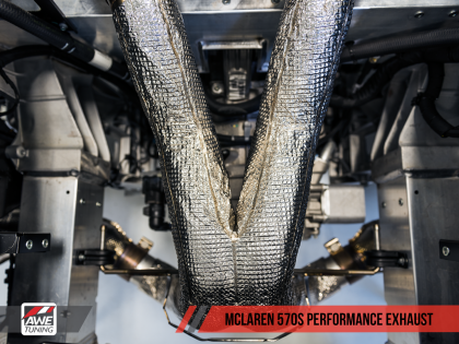 AWE Tuning McLaren 570S Performance Exhaust