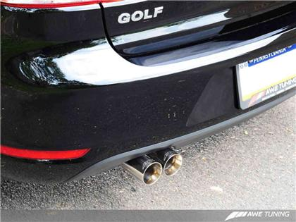 AWE Performance Cat-back Exhaust for Golf / Rabbit 2.5L