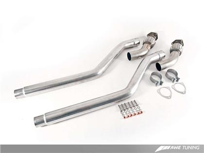 AWE Touring Edition Exhaust for Audi B8 S4 (Sedan/Avant) 3.0T - Chrome Silver Tips (102mm)