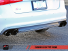 AWE Touring Edition Exhaust for Audi C7 S6 4.0T - Diamond Black Tips