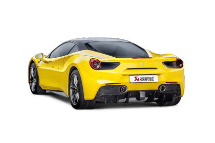 Akrapovic 16-17 Ferrari 488 GTB/488 Spyder Slip-On Line (Titanium) w/ Carbon Tips
