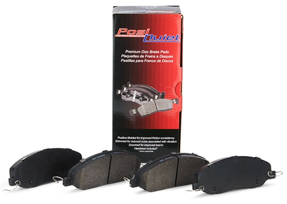 Centric - Audi 6 Piston PosiQuiet Semi Metallic Pads Brake Pad Set