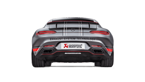 Akrapovic 2015-2018 Mercedes Benz GT/S (R190) Evolution Line Cat Back (Titanium) w/ Carbon Tips