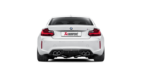 Akrapovic 16-17 BMW M2 (F87) Rear Carbon Fiber Diffuser - High Gloss