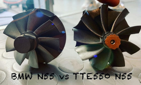 BMW N55 TTE550 UPGRADE TURBOCHARGER