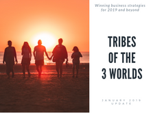 Tribes of the 3 Worlds: winning business strategies for 2019 and beyond