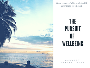 The Pursuit of Wellbeing : how successful brands build customer wellbeing