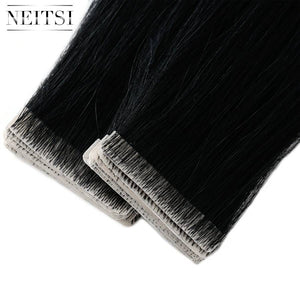Adhesives Remy Human Hair Extensions