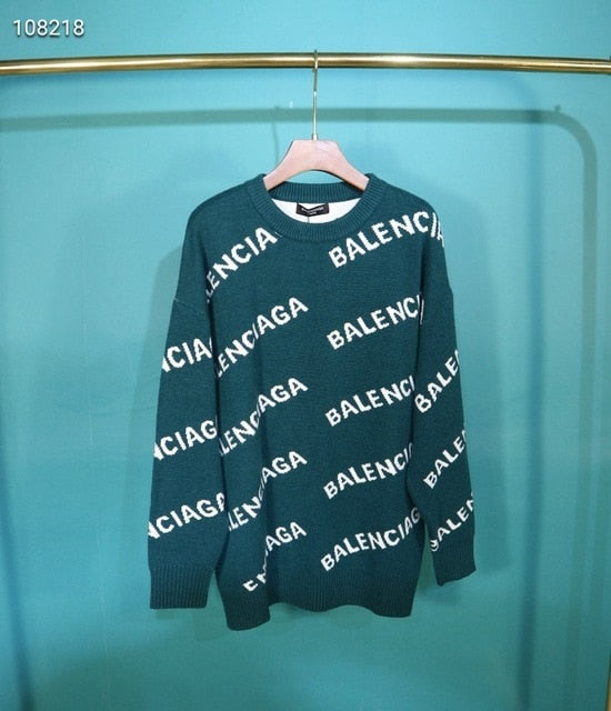 2020 Luxury brand letter sweater