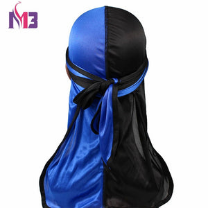 Silk Patchwork Durags Double Colors