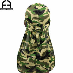 Camo Men's & Women's Silky Durags