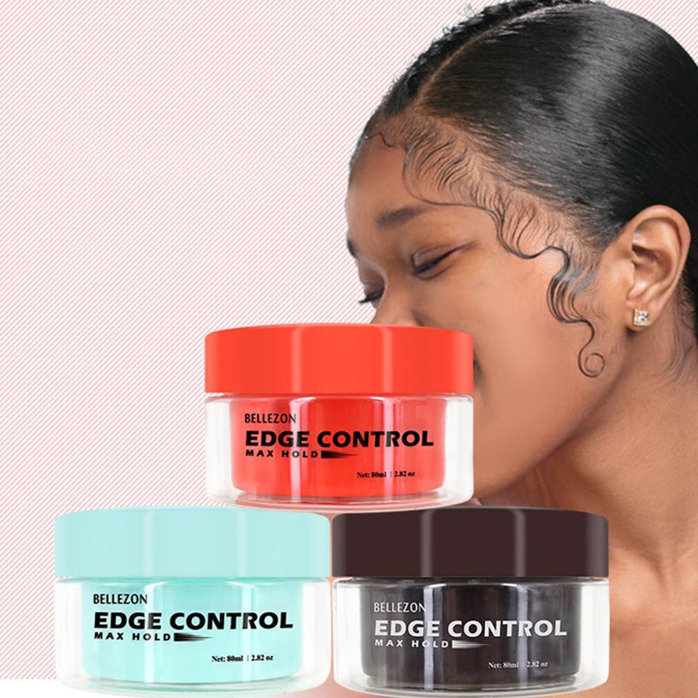 2 in 1 Edge Control Hair Fixative Gel