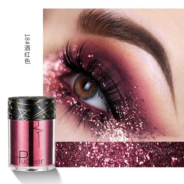 Holographic Glitter Shimmer Eye Shadow Body Glitter