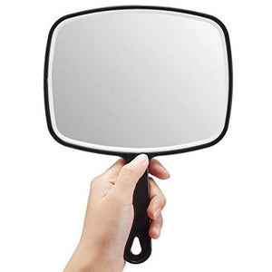 Hand Wave  Mirror with Anti Slid Handle Hot