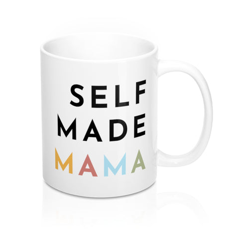 Self Made Mama  - Classic Coffee/Tea Mug - WHITE