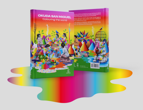 Okuda San Miguel – Colouring the world hardcover book
