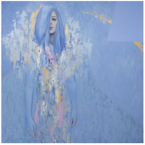 "Meredith Marsone ""BLUE WOMAN"" 2017"
