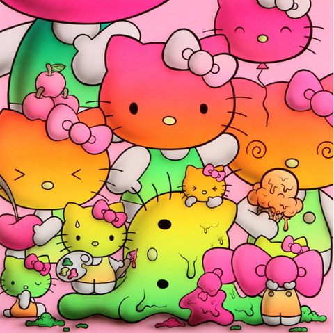 "Buff Monster ""RAINBOW KITTY HARMONY"""