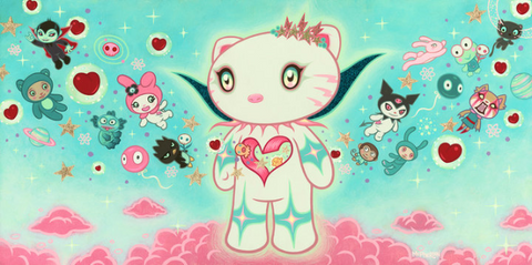 "Tara McPherson ""SUPERNOVA HELLO KITTY"""