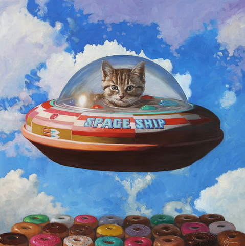 "Eric Joyner ""THIS IS NOT A CAT IN A SPACESHIP"""