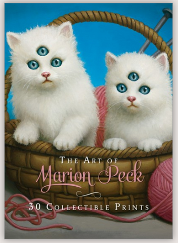 "Marion Peck ""THE ART OF MARION PECK - 30 COLLECTIBLE PRINTS"""