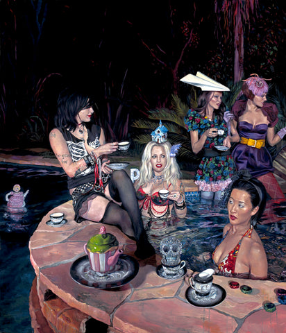 "Natalia Fabia ""WET TEA PARTY"""