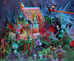 "Ron English ""RABBBIT HOUSE"""