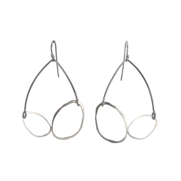 RC Double Arch Earrings by Lisa Crowder