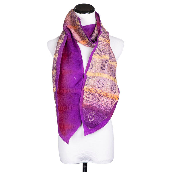 SALE! Purple Scarf by Janice Kissinger